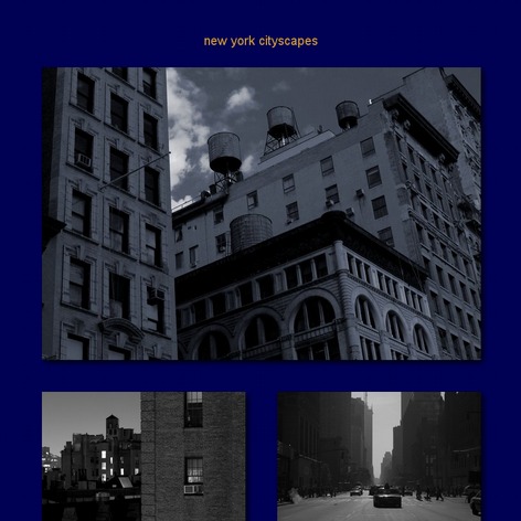 Tabblo: new york cityscapes